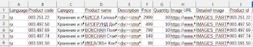 Файл с основными данными