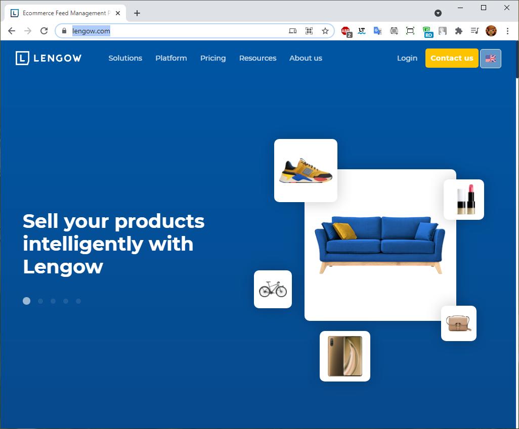 Импорт в маркетплейс lengow.com